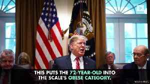 Results From President Trump's Latest Physical Show He is Obese [Video]
