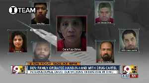 DEA: Family operated hand-in-hand with drug cartel [Video]