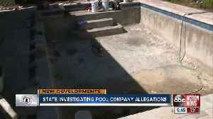Attorney General files petition for pool company owner to comply after pools were left unfinished [Video]