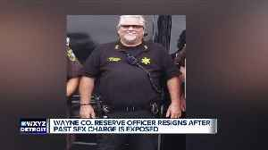 Wayne County Sheriff's Department Deputy Chief of Reserves resigns after criminal background surfaces [Video]