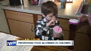 Cleveland Clinic doctors have new recommendations for parents to help prevent food allergies in kids [Video]
