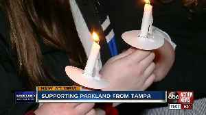 Former Stoneman Douglas student among those at Tampa vigil on Parkland shooting one year anniversary [Video]