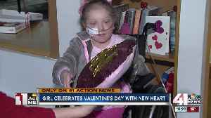8-year-old girl celebrates new heart for Valentine's Day [Video]