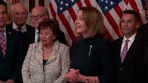 Pelosi signs border bill, says will not stand for an 'end-run around Congress' [Video]