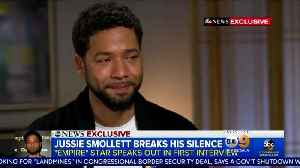 Local station on Jussie Smollett findings [Video]