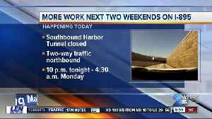 SB Baltimore Harbor Tunnel to close two straight weekends for repairs [Video]