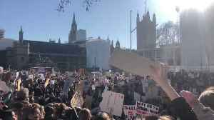 School Students Gather Outside UK Parliament to Demand Climate Action [Video]