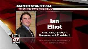 Former CMU student president charged by AG Nessel [Video]