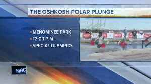 Oshkosh Polar Plunge to benefit Special Olympics [Video]