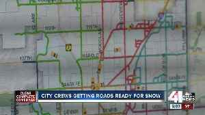 Olathe Public Works uses system to track road conditions amidst winter weather [Video]