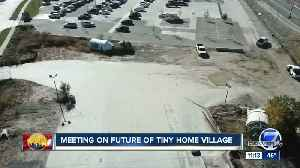Meeting to be held on future of Denver tiny home village [Video]