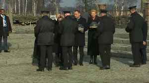 U.S. Vice President Mike Pence visits Auschwitz [Video]