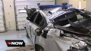 Troopers stress move over law after cruiser crushed [Video]