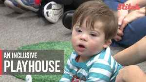 Kids with Down Syndrome and their parents get an inclusive experience Gigi's Playhouse [Video]