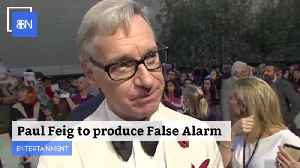 Paul Feig Will Produce 'False Alarm' With Universal [Video]