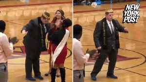 Unlikely homecoming king breaks out into a happy dance [Video]