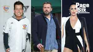 Demi Lovato, Ben Affleck and Charlie Sheen are just some of the stars who've gotten sober [Video]