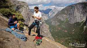 Jared Leto, 'Free Solo's' Alex Honnold and Co-Director Jimmy Chin Rock Climb in Los Angeles [Video]