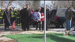 Hundreds Attend Burial Of Lawrence World War II Veteran With No Surviving Family [Video]