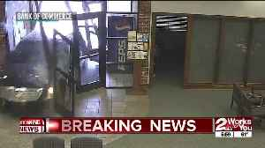 Car drives into Catoosa bank after driver accidentally hits accelerator [Video]