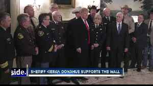 Sheriff Donahue went to the White House to represent Idaho on border security [Video]