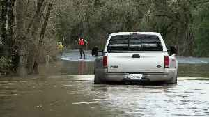 Flooding Russian River Prompts Evacuation Advisory [Video]
