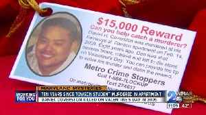 10 years since Towson University student found dead in apartment; police still searching for killer [Video]