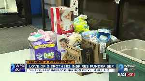 Love of 3 brothers inspires fundraiser [Video]