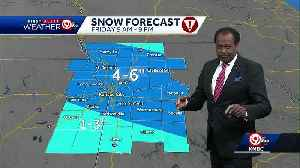 Snow expected to slow travel Friday [Video]