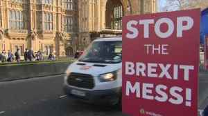 Signs of party political splits on Brexit [Video]