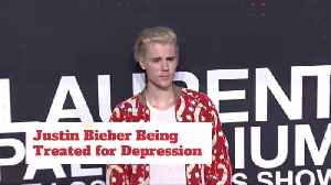 Justin Bieber Is Under Care For Depression [Video]