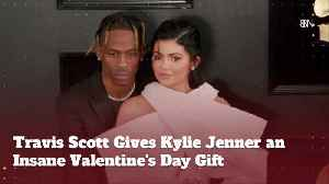 Travis Scott Blows Away Kylie Jenner On Valentines Day [Video]