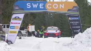 Neuville fastest in shakedown, Gronholm guests in Sweden [Video]