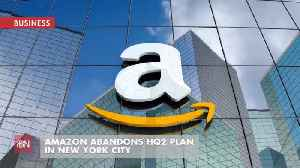 Amazon Got A Lot Of Hassle Over NYC HQ So They Dumped It [Video]