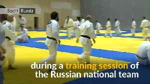 Russia's Putin shows off judo skills [Video]