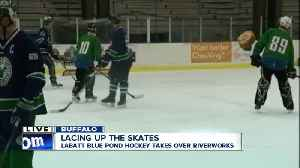 We're lacing up for the Labatt Blue Pond Hockey Tournament [Video]
