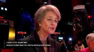 Charlotte Rampling gets Honorary Golden Bear for lifetime achievement [Video]