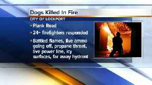 Fire investigators are trying to figure out what caused a fire that destroyed a home in the city of Lockport, and killed three d [Video]