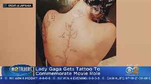 SEE IT: Lady Gaga's New Tattoo [Video]