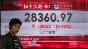 Asian Shares Down, Euro Shares Up [Video]