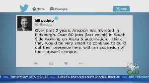 Peduto Responds After Amazon Pulls Plans In NYC [Video]