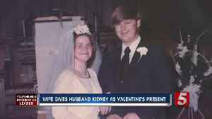Couple spends Valentine's Day together one year after wife donates kidney to husband [Video]