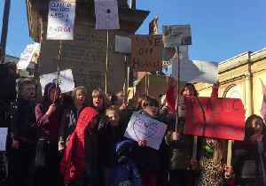 Oxford School Students Take Part in Climate Protest [Video]