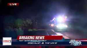 Crews respond to swift water rescue near River and Orange Grove [Video]