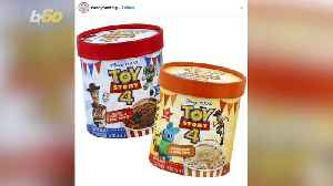New 'Toy Story 4' Ice Cream Flavors Will Take You To 'Infinity And Beyond!' [Video]