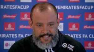 Nuno: Big heart from the boys [Video]
