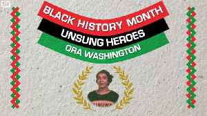 Unsung Heroes: Ora Washington Dominated Two Courts While Breaking Down Social Norms [Video]
