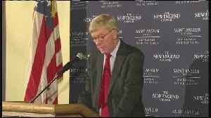 Web Extra: Bill Weld Exploring A Run For President [Video]