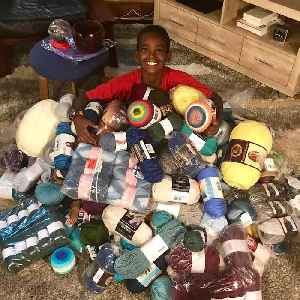 This 11-year-old is a crocheting expert [Video]