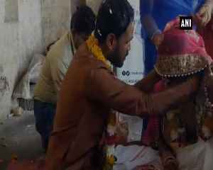 Defying all odds, MP man marries transgender on Valentines Day [Video]